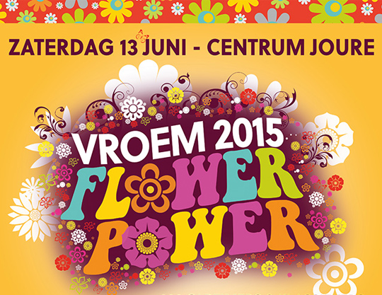 VROEM 2015 Flower Power